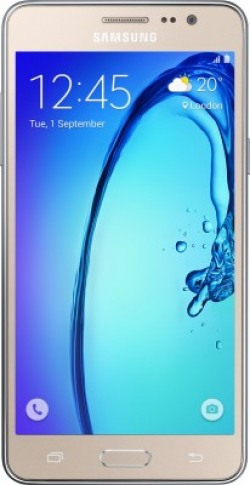 Samsung Galaxy On7 (Gold, 8 GB)