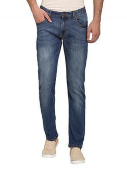 abof Men Blue Slim Fit Jeans at 387