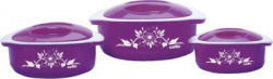 Cello Hot Meal Pack of 3 Casserole Set at Just 399