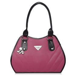 Fostelo Women's Rihana Shoulder Bag (Pink) (FSB-714)
