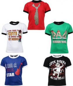 Gkidz Boys Printed T Shirt