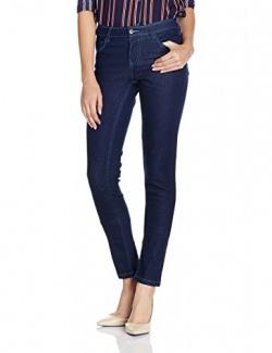Cherokee Women's Slim Jeans (270029250 MD-BLUE 30 IN-30)