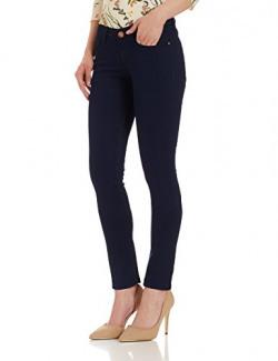 Jealous 21 Women's Skinny Jeans (PJEAL-.SS17-FLJ-0000257, 26, BLUE)