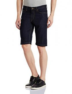 Colt Men's Cotton Shorts (8907542212408_269769293_INDIGO_38_IN-11)
