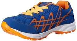 Spiky Men's Blue and Orange Boating Shoes - 7 UK/India (41 EU)(SPS8008)