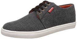 Provogue Men's Black Sneakers - 10 UK/India (44 EU)