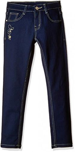 Cherokee Girls' Jeans (8907242800950_266101191_Dark Blue_02Y)