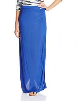 United Colors of Benetton Women's Pencil Skirt (15A3CV4V9054I38G_Mazarine Blue_28)