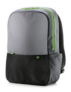 HP Duotone Y4T21AA#ACJ 15.6-inch Laptop Backpack (Gray/Green)