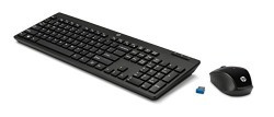HP HP-200 Wireless Keyboard and Mouse Combo (Black)