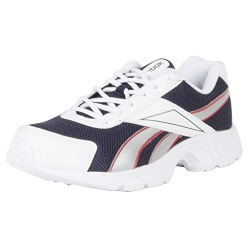 Reebok Men's Acciomax LP Blue, White and Red Running Shoes - 9 UK