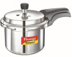 Prestige Deluxe Plus 3 L Pressure Cooker with Induction Bottom