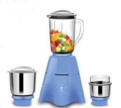 i-Flo Crest 550-Watt Mixer Grinder with 3 Jars (White)