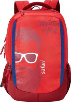 Safari Hipster Red 37 L Laptop Backpack