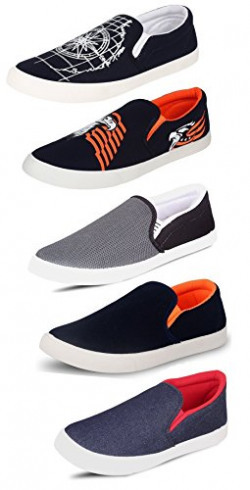 Tempo Men's Combo Pack of 5 Loafers & Moccasins-9