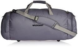 Wildcraft Polyester 58 Cms Grey Travel Duffle