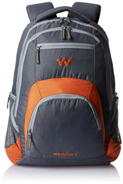 Wildcraft Nylon 23 inch Orange Backpack (Rover 2)