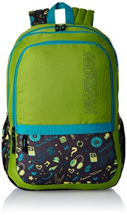 American Tourister 27 Ltrs Lime Casual Backpack (Hashtag 03)