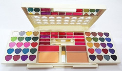 Hilary Rhoda Professional NE656 Make-Up kit 40 eye shadow 14 cream lip gloss 2 blush 1 face powder
