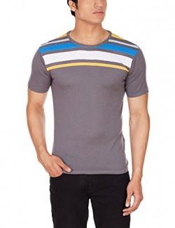 United Colors of Benetton Men's T-Shirt (8903975125667_16P1098K1003I_S_Grey)