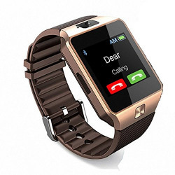 Zync C30 COMPATIBLE Bluetooth Smart Watch All 2G, 3G,4G Phone With Camera and Sim Card Support With Apps like Facebook and WhatsApp Touch Screen Multilanguage Android/IOS with activity trackers and fitness band features by vell- tech