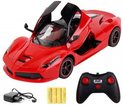Toyhouse 1:16 5-Channel RC Ferrari with Open Door, Red