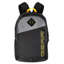 Gear Polyester 21 Ltrs Black School Bag (MDBKPECO50104)