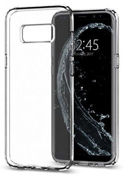 eCosmos Samsung Galaxy S8 Transparent (Slim Thin) (Anti Scratch) Flexible TPU Gel Rubber Protective Back Case Cover / Mobile Cover For Samsung Galaxy S8 Mobile Phone By eCosmos Samsung Galaxy S8 Transparent (Slim Thin) (Anti Scratch) Flexible TPU Gel Rubber Protective Back Case Cover / Mobile Cover For Samsung Galaxy S8 Mobile Phone By eCosmos