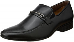 Fortune (from Liberty) Men's ARN-1 Black Loafers and Moccasins - 10 UK/India (45 EU)