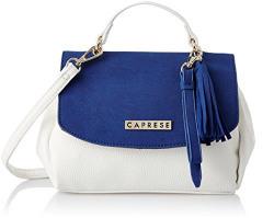 Caprese Women's Sling Bag (Blue White)