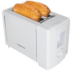 Eurolex PT16025 2 Slice Pop up Toaster (White)