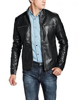 US Polo Men's Synthetic Jacket (8907378418180_USJK1553_Small_Navy)