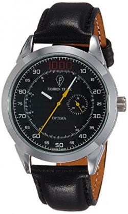 Optima Analog Black Dial Men's Watch - OFT-2431 BK