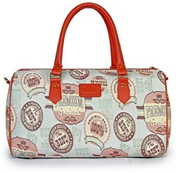 The Clownfish 18 inch 26 Litres Tapestry Travel Duffle Cabin Bag Weekend Bag Luggage Bag