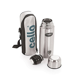 Cello Lifestyle Stainless Steel Flask, 500ml