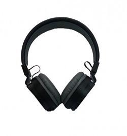 Corseca Byte DMHW-3213 Stereo Headphones with Mic (Black)