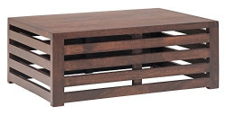 The Jaipur Living Repeat Coffee Table (Honey Brown Finish, Brown)