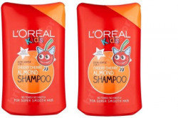 L'Oreal Paris Kids Cheeky Cheery Almond Shampoo ( Pack of 2 )