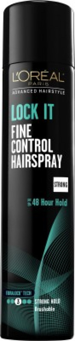 L'Oreal Paris New LOCK IT 48h Strong Hold Fine Control Spray Hair Styler