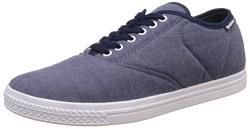 Reebok Classics Men's Classic Tenstall Blue, Lilac, Pink, Black and Pewter Sneakers - 8 UK/India (42 EU)(9 US)