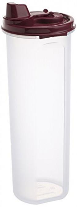 Signoraware Easy Flow Plastic Bottle, 890ml, Maroon