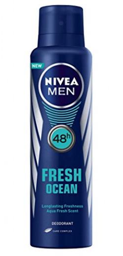 Nivea Men Fresh Ocean Deodorant, 150ml