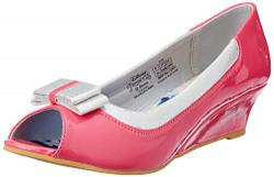 Disney Girl's Ballerina Pink Pumps - 12 kids UK/India (31 EU)