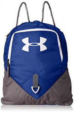 Under Armour Undeniable  Polyester Royal and Graphite Drawstring Bag (1261954-400)