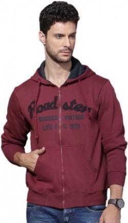 Roadster Full Sleeve Solid Men's Sweatshirt