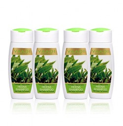 Heena with Green Tea Extracts - Smoothing Shampoo : Heena with Green Tea Extracts Shampoo Smoothing Shampoo ALL Natural Herbal Shampoo Paraben Free Sulfate Free Scalp Therapy Moisture Therapy Suitable for All Hair Types Value Pack of 4 X 110ml - Vaadi Herbals