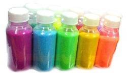 Crazy Sutra Premium Diwali Rangoli Color Powder (Set of 5 Marble Colors in Plastic Bottles 80gm each) High Quality Festival Colors (Random Colors as per availability)