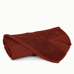 Superabsorbent 400 GSM MultiPurpose Cotton Bath Towel -Chocolate Brown