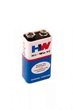 9V HI-Watt Battery, Pack of 5 by Robokart