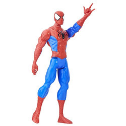 Marvel Spider Man Titan Hero Series Spider Man Figure, Multi Color
